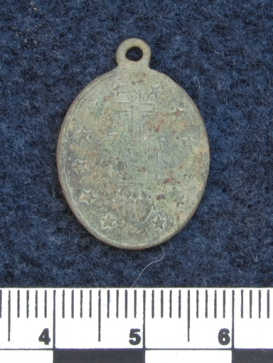 Miraculous medal, back