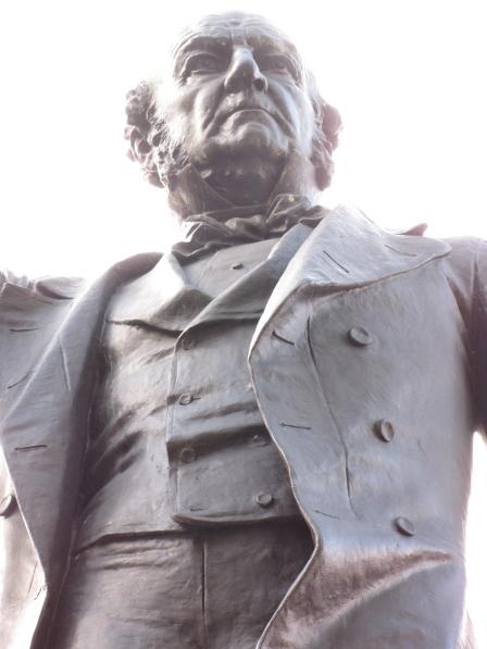 William Ewart Gladstone - statue in Albert Square, Manchester