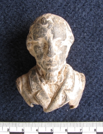 Mystery metal man. Possibly Gladstone?