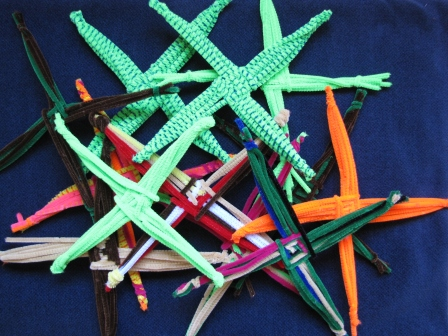 Lots and lots of pipecleaner crosses
