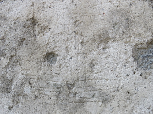 Graffiti of a sailing ship, Ennis Friary, dating from 14th or 15th century