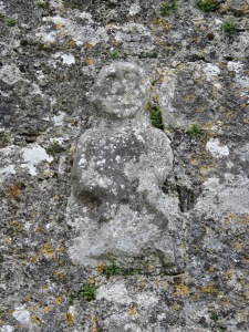 Sheela-na-gig, Killinaboy Church, Co. Clare