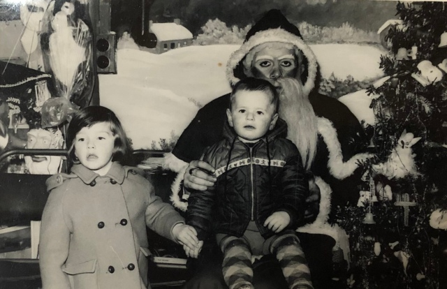 A visit to Santa in Longford, c.1966